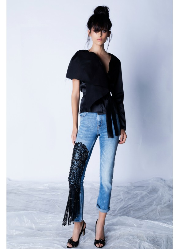 COUTURE EMBROIDERY JEANS