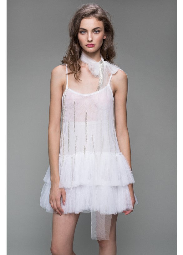 AFTER MIDNIGHT TULLE DRESS