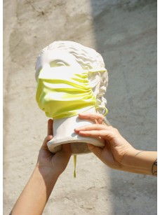 Lemonade Mask in Silk Charmeuse