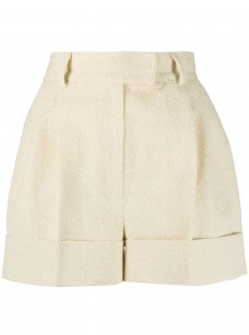 Textured Mini Shorts