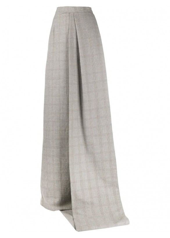 PANELLED LONG SKIRT