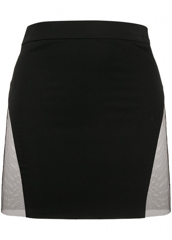 SIDE SLIT MINI SKIRT