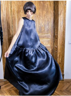 Silk Organza Maxi Dress