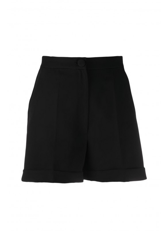 TAILORED FRONT-PLEAT SHORTS