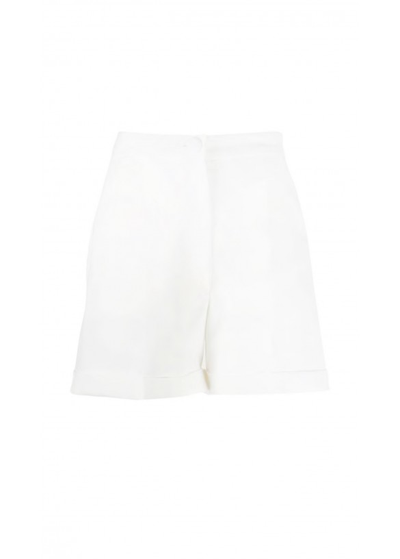 TAILORED MID-RISE SHORTS